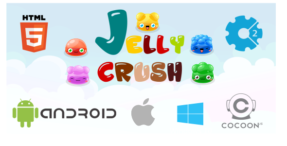 Jelly Crush - Game HTML5 (CAPX) - CodeCanyon Item for Sale