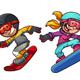 Snowboard Kids - GraphicRiver Item for Sale