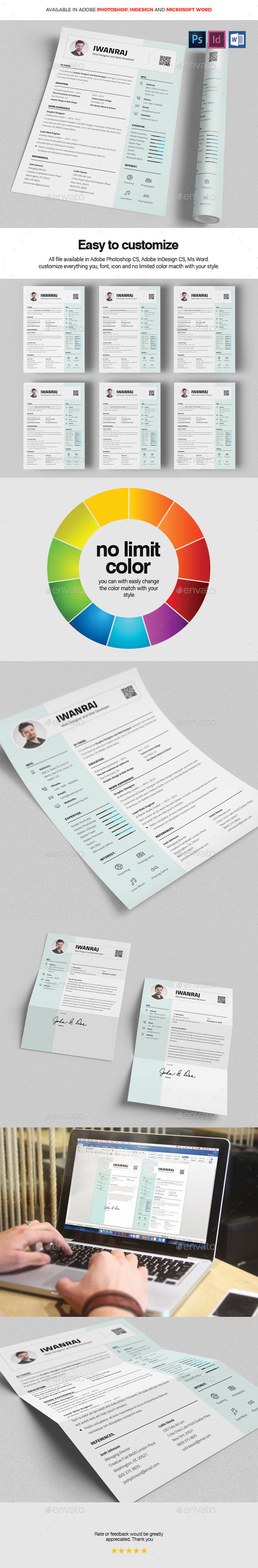 GraphicRiver Resume 20944665