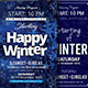 Winter Flyers Bundle Templates