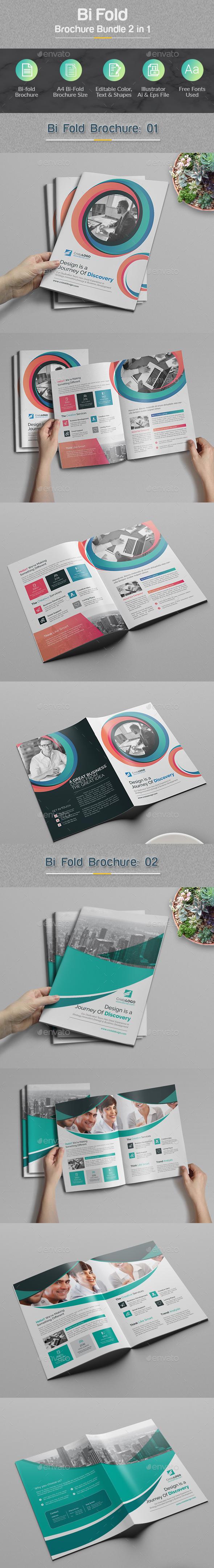 GraphicRiver Brochure Bundle 2 in 1 20944792