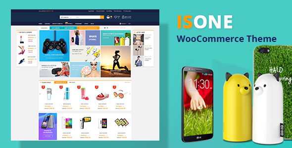 Image of IsOne - RTL  WooCommerce WordPress Theme
