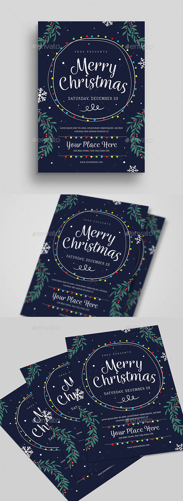 GraphicRiver Christmas Event Flyer 20944805
