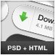 AICO Button Pack 4.0 (Download Buttons) - GraphicRiver Item for Sale