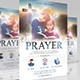Prayer Church Flyer - GraphicRiver Item for Sale