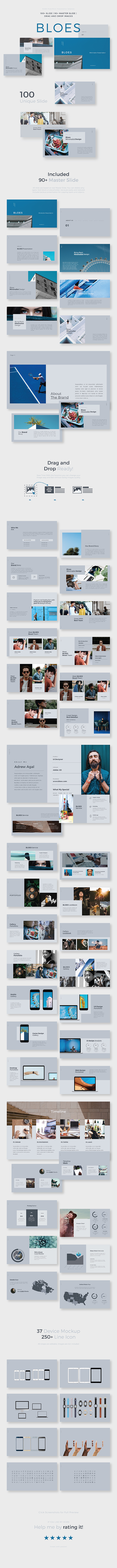 GraphicRiver Bloes PowerPoint Presentation Template 20944919
