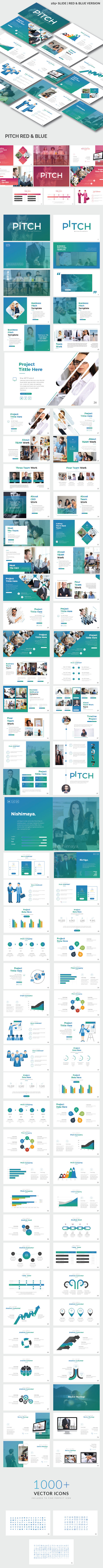 GraphicRiver Pitch Business Google Slide Template 20944992