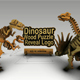 Dinosaurus Wood Puzzle Reveal Logo - VideoHive Item for Sale