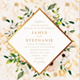 Floral Watercolor Wedding Invitation Card - GraphicRiver Item for Sale