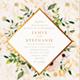 Floral Watercolor Wedding Invitation Card