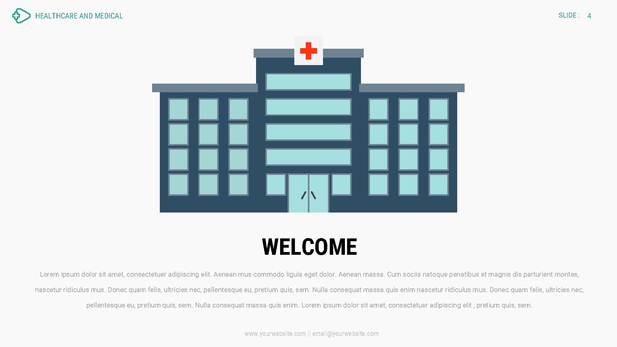 healthcare and medical 2 - google slides presentation template, Presentation templates