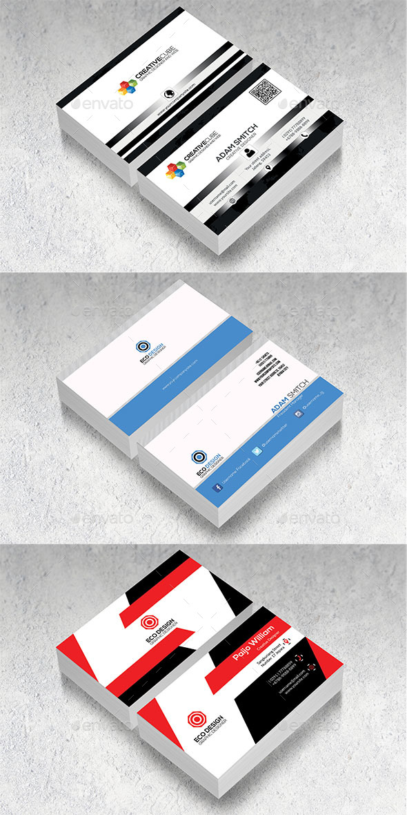 GraphicRiver Business Card Bundle 20945642