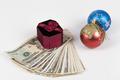 Gift Box on Dollars - PhotoDune Item for Sale