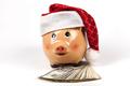 Christmas Piggy on Dollars - PhotoDune Item for Sale