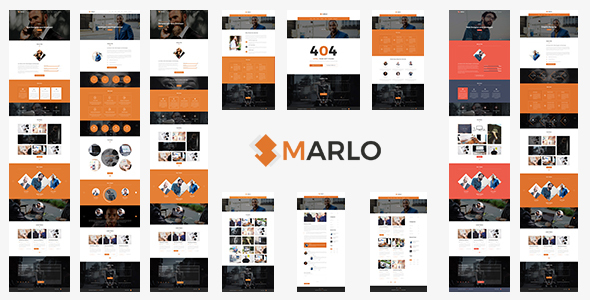Marlo - Portfolio and Business Template - Creative PSD Templates