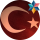 Realistic Turkish Flag - VideoHive Item for Sale