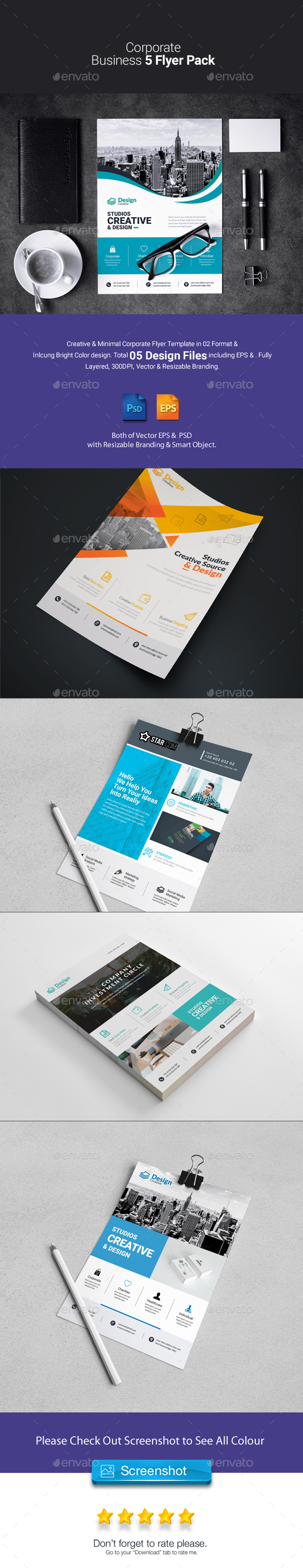 Corporate Business Flyer Pack - Corporate Flyers