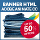 Online Shopping HTML5 Banner – INTERACTIVE USER
