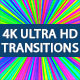 Transitions Pack Vol.2/ 4K Ultra HD Elements/ Colorful Style/ Geometric Dinamic or Rhythmic Mood - VideoHive Item for Sale