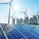 Solar Panels with the Suny Sky - VideoHive Item for Sale