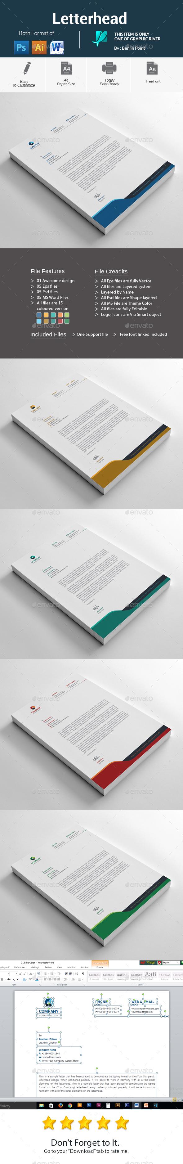 GraphicRiver Letterhead 20946901