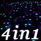 Neon Led Scene - VJ Loop Pack (4in1) - VideoHive Item for Sale