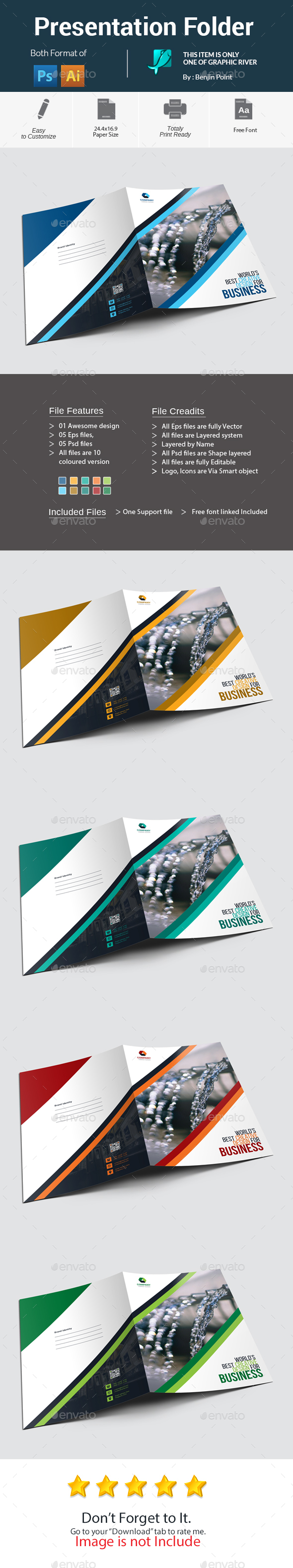 GraphicRiver Presentation Folder 20946936