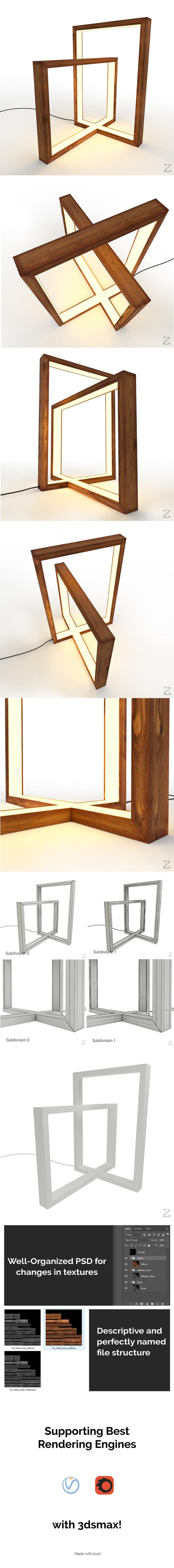3DOcean Table Lamp 4 20947311