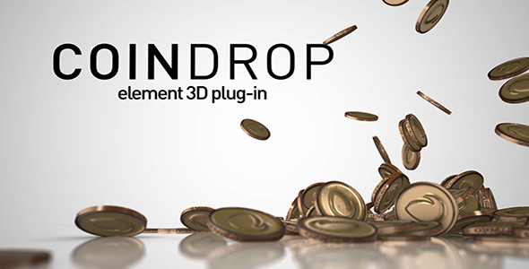 VideoHive Coin Drop 20947405