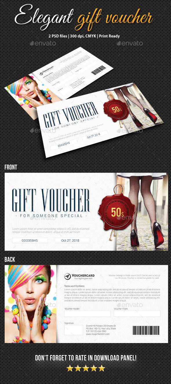 GraphicRiver Elegant Gift Voucher V07 20947566