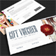 Elegant Gift Voucher V07 - GraphicRiver Item for Sale