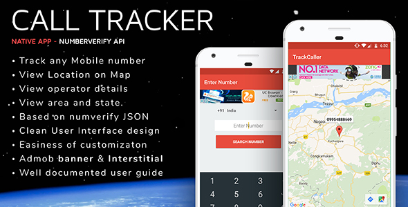 Download Source code              Track Caller Android App - Admob Ready            nulled nulled version