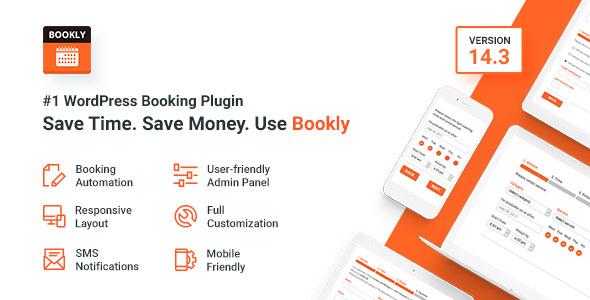 Bookly –#1 WordPress Booking Plugin - CodeCanyon Item for Sale