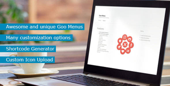 Goo Menu for Wordpress - CodeCanyon Item for Sale