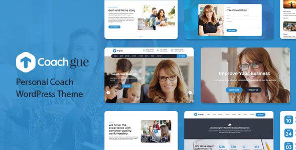 Image of Coachgue - Personal Coach WordPress Theme