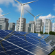 Solar Panels and Buildings - VideoHive Item for Sale