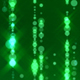 Green Bead Curtain Particles  - VideoHive Item for Sale