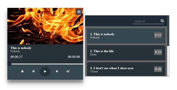 Source code              Audio Player            nulled