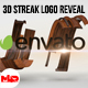 3D Wooden Streak Logo Reveal - VideoHive Item for Sale