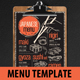 Asian Food Menu - GraphicRiver Item for Sale