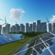 Solar Panels with Sun - VideoHive Item for Sale