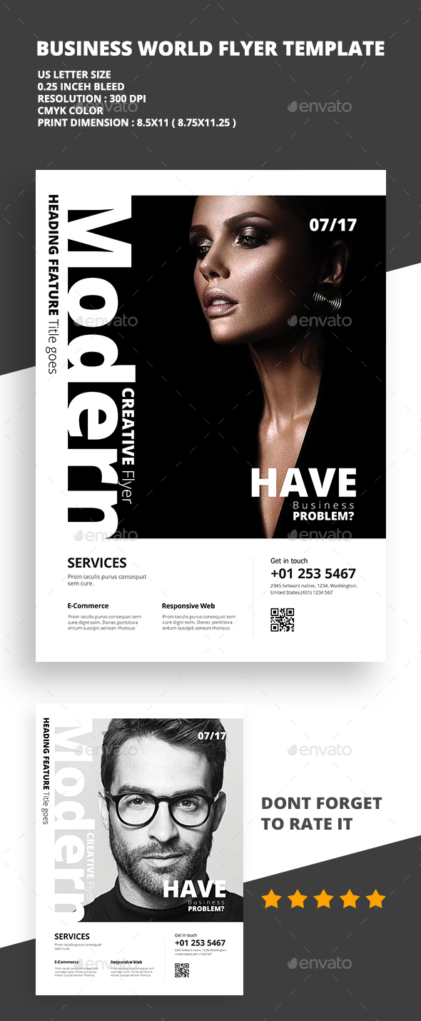 Modern Creative Flyer 04 - Flyers Print Templates