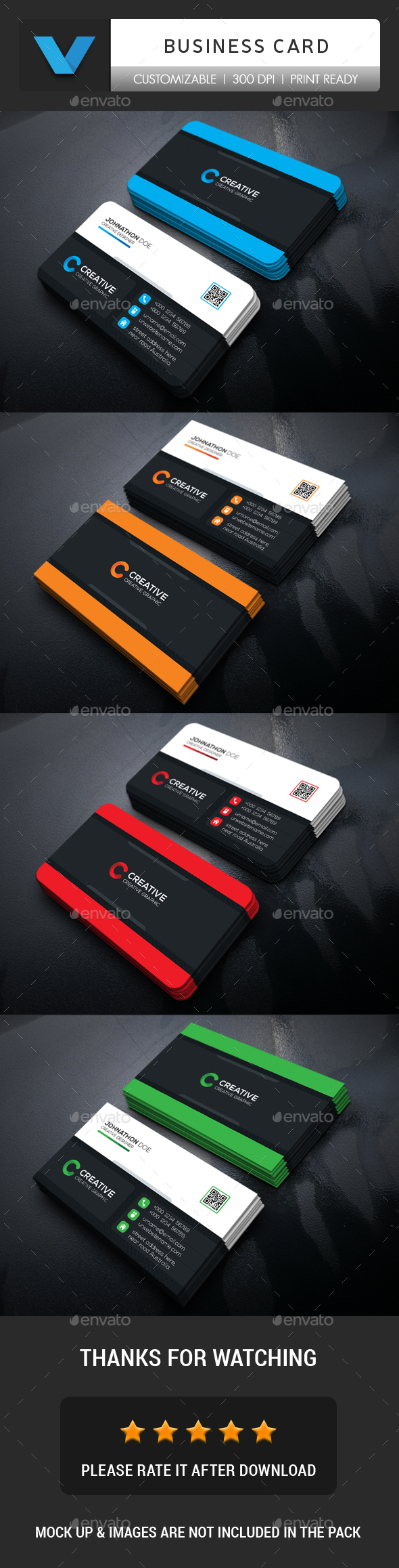 GraphicRiver Creative Business Card 20948074