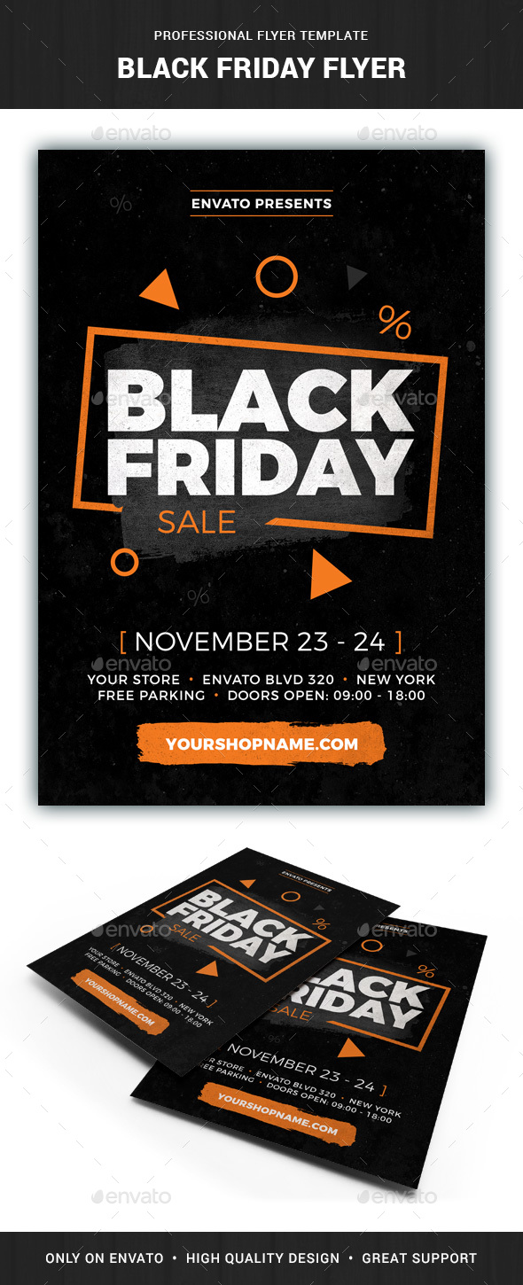 GraphicRiver Black Friday Flyer Template 20948077