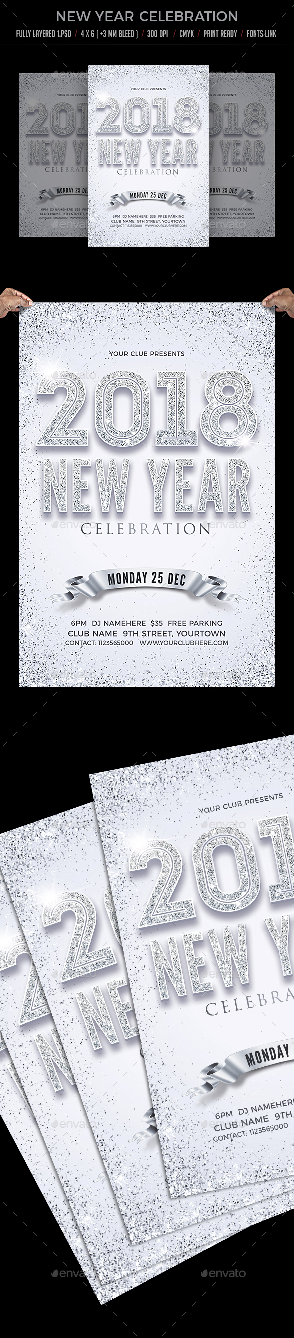 GraphicRiver New Year Celebration 20948176