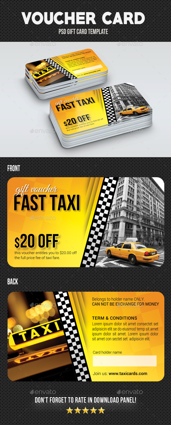 GraphicRiver Voucher Card 08 20948183