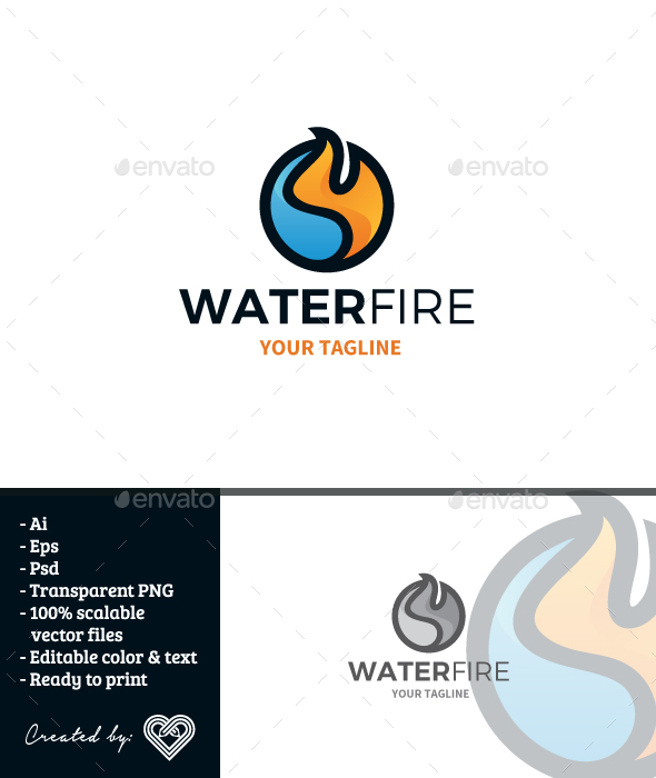 GraphicRiver Water Fire 20948256