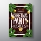 Vector Merry Christmas Party Design with Holiday - GraphicRiver Item for Sale