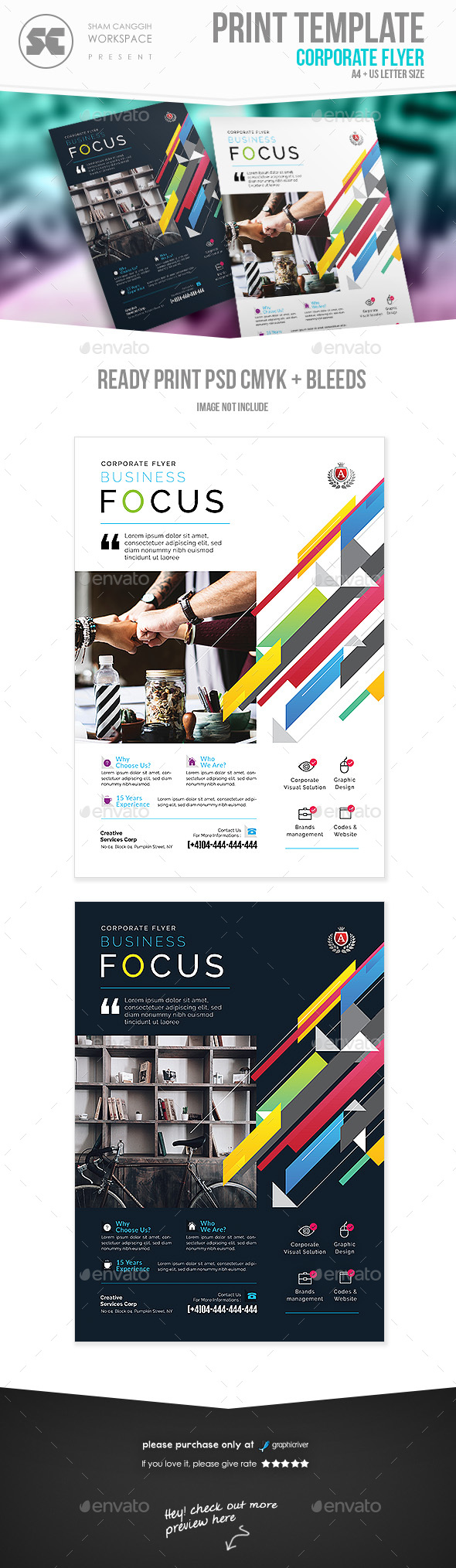 GraphicRiver Corporate Business Flyer 20948272