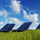 Wind Turbines and Solar Panels - VideoHive Item for Sale